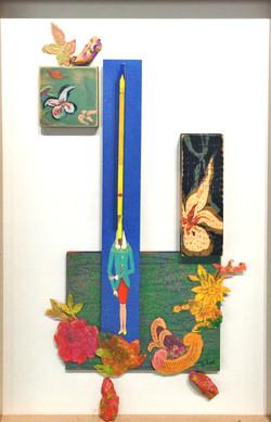 조형 2011, 43.5x67.5cm, 혼합재료, 2011