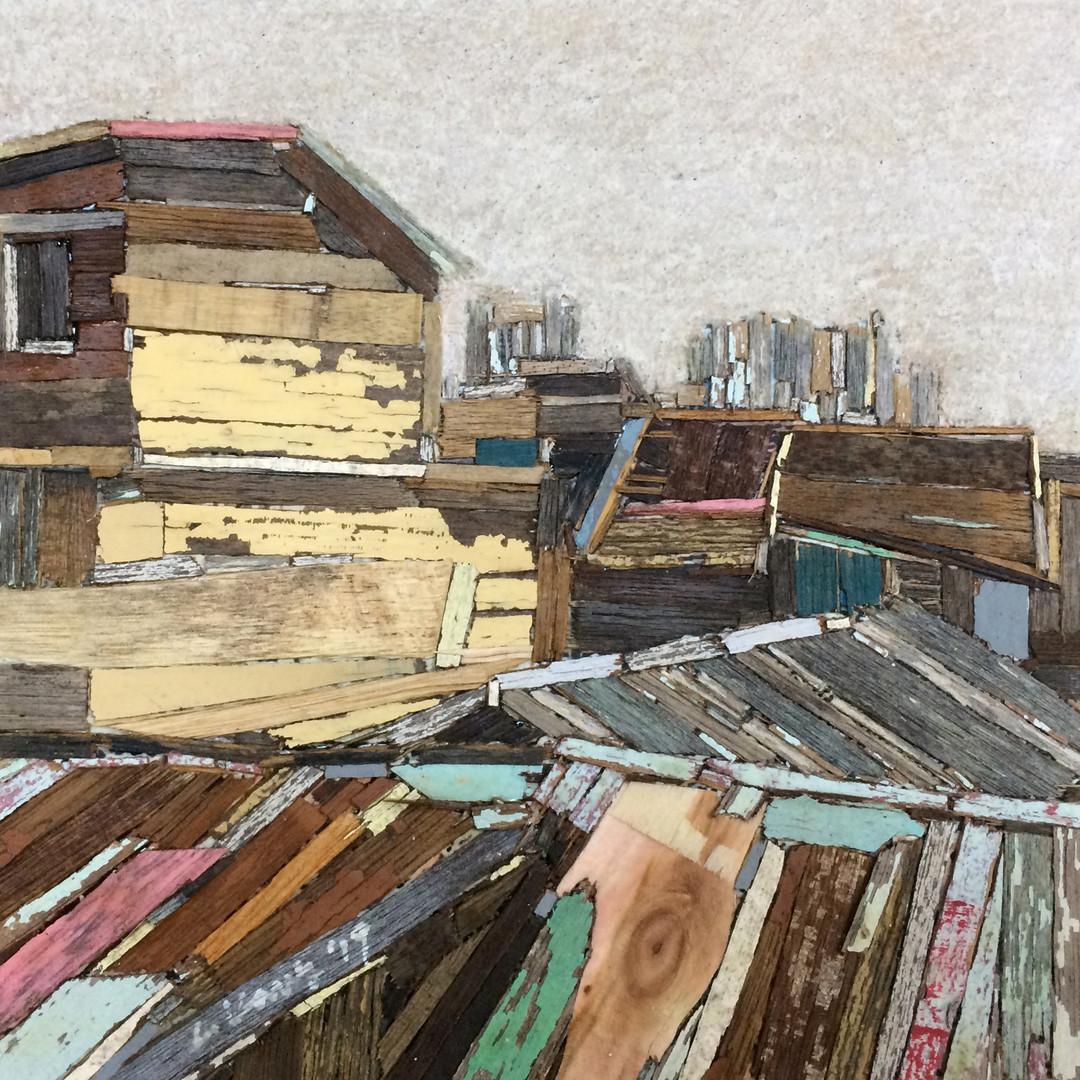 013, 이부강, 옮겨진 풍경, 20 x 20 cm, Mixed medi