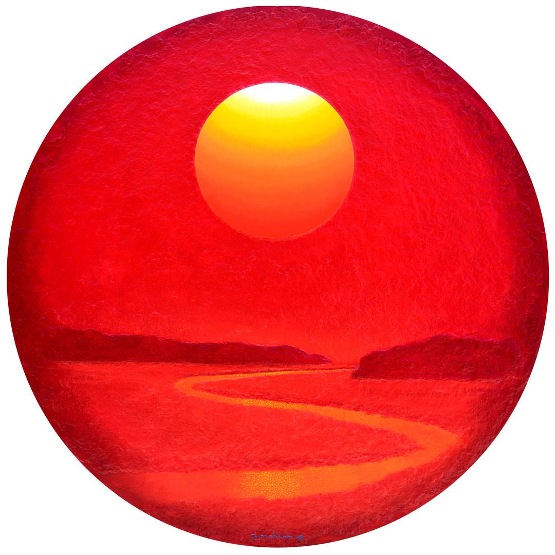 019, Sunrise - Faith,  Hope  and  Love,