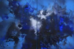 연상록-숲,빛,바람의 숨결, 53x45.5cm, 2015, Acrylic on canvas_1