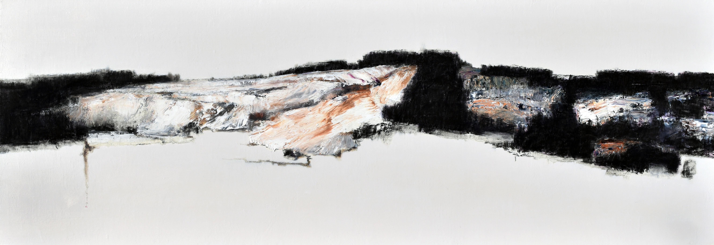 최성원, 그곳, 116x 39.5cm, mixed medium,  2016