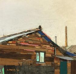 008, 이부강, moved landscape(영신연와), 25 x 25