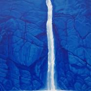 003, 박연폭포, 72 x 91 cm, acrylic on canvas