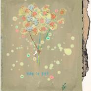 20 김현영, life is gift 20 x 23 cm, 혼합재료, 2