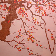 017, 매정 190cmx110cm canvas on acrylic 20