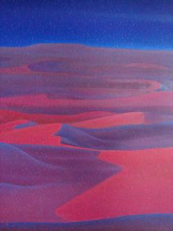 042, 차명주1, 사하라, 72.7 × 90