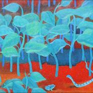 008, 서늘한 여름 90.9 x 72.7 Oil on canvas.jp