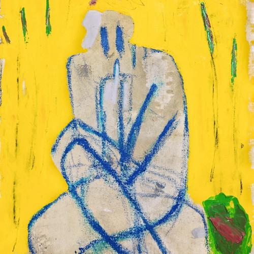 002, 최우, Thinker 1, 45.0 x 53.0 cm, oil