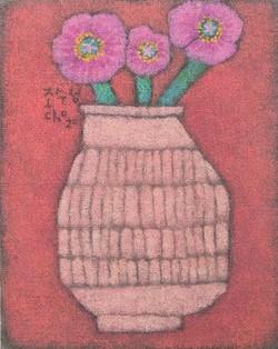 조수정, 016, 꽃을 담고..., 40.5 x 50