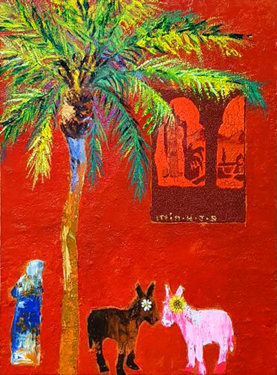 014, 민해정수1, 붉은도시 마라케시, 33.4 x 45