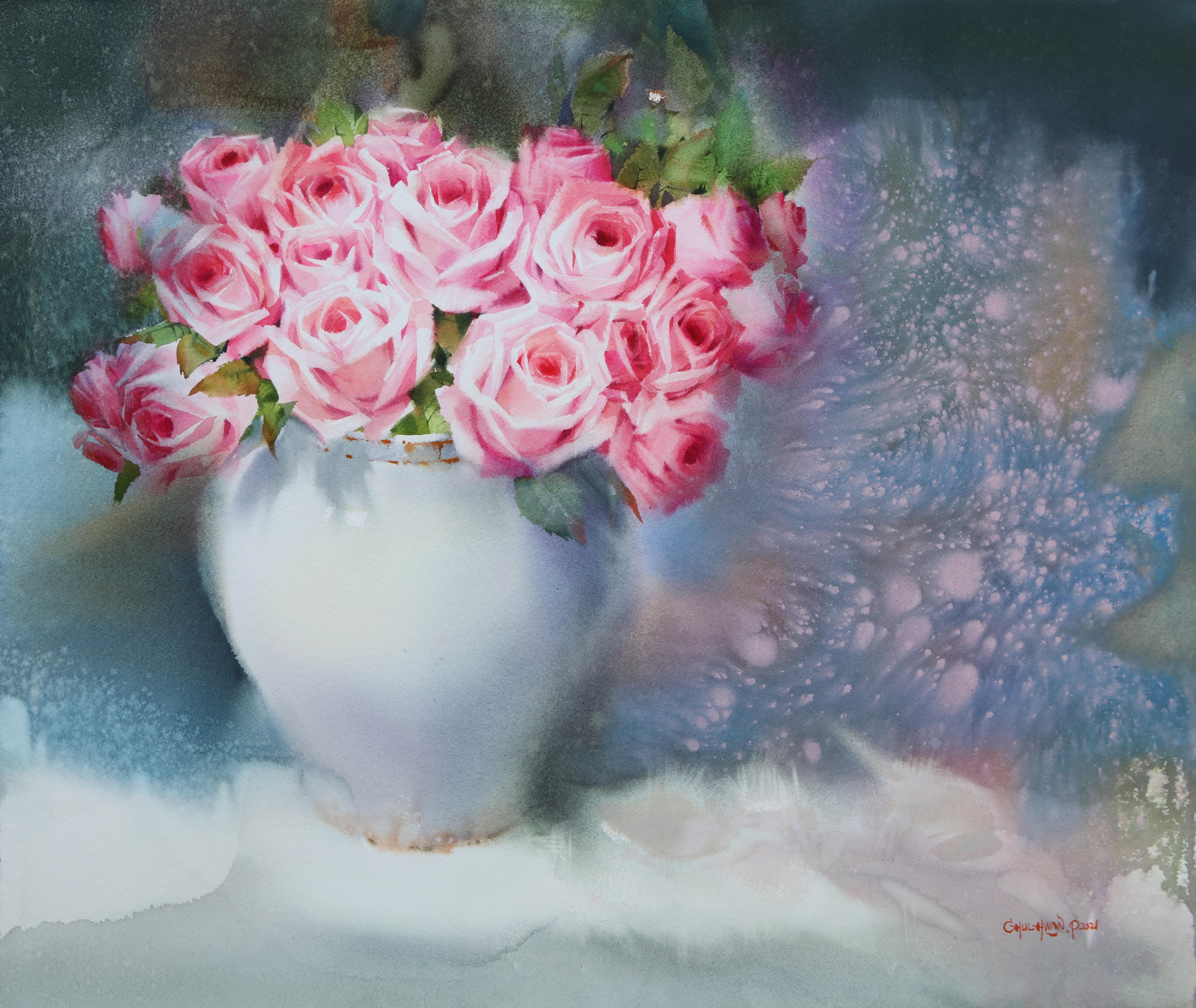 007, 박철환, Rose, 60.6 x 72