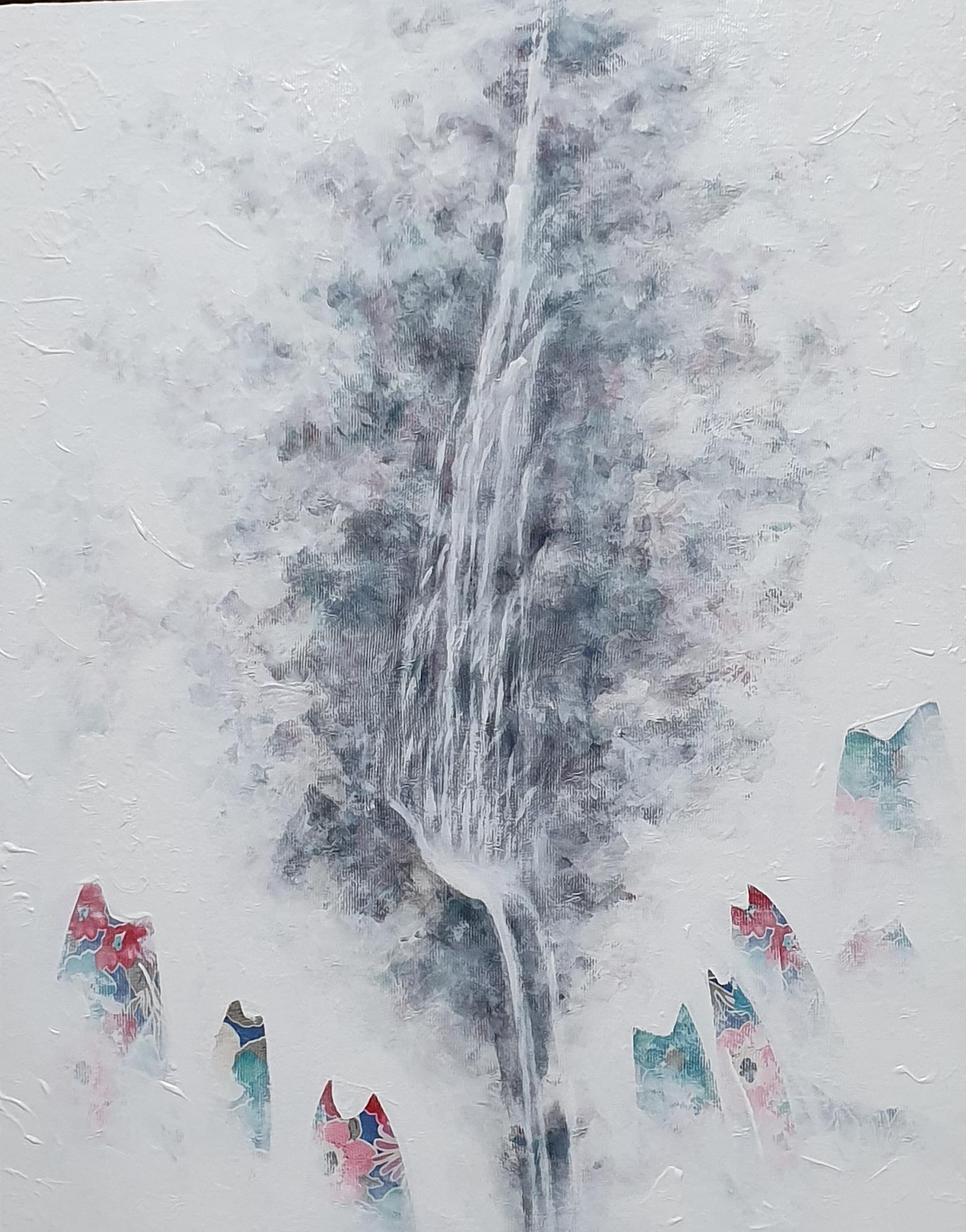 김성호1, 꽃잉어 합창, 42.5 x 54