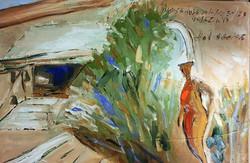 최수란1, 이탈리아 구겐하임미술관, 40.9 x 27