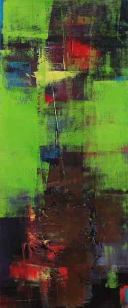 연상록2, spring(봄날의향연), 40 x 57 cm, 우드판넬 위에