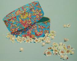 황미정, 5월의 신부, 90.9cm×72.7cm, Acrylic on Canvas, 2016