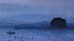 이미경, 우포늪 이야기ㅡ흐르는 시간, 72.7×40.9cm, Oil on canvas, 2016