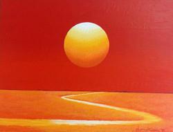 신동권004,일출-신망애, 40.9x31.8cm ,Acrylic on canvas, 2017 (5)_1