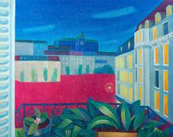 땅거미 지는 몽빠르나스 90.9 × 72.7 oil on canvas