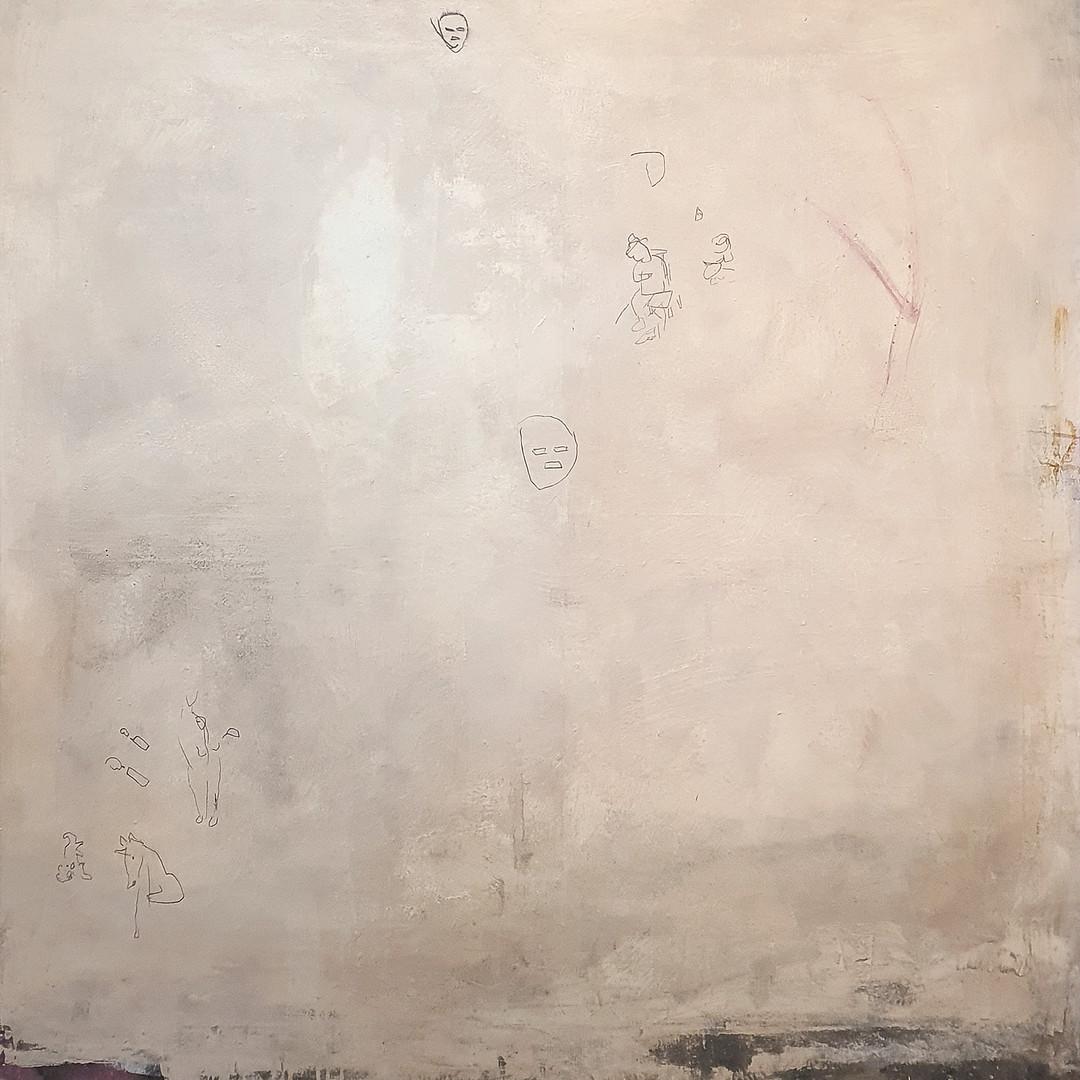 028, 최우, It's not here3, 130 x 130 cm, m