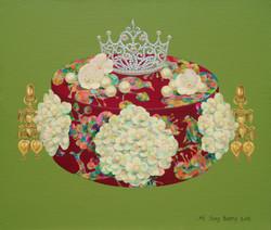 그녀는 왕비마마 2 53x45.5cm Acrylic on canvas 2018