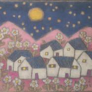 조수정, 021, 어느 날 밤인가..., 102 x 76 cm, 황마캔버