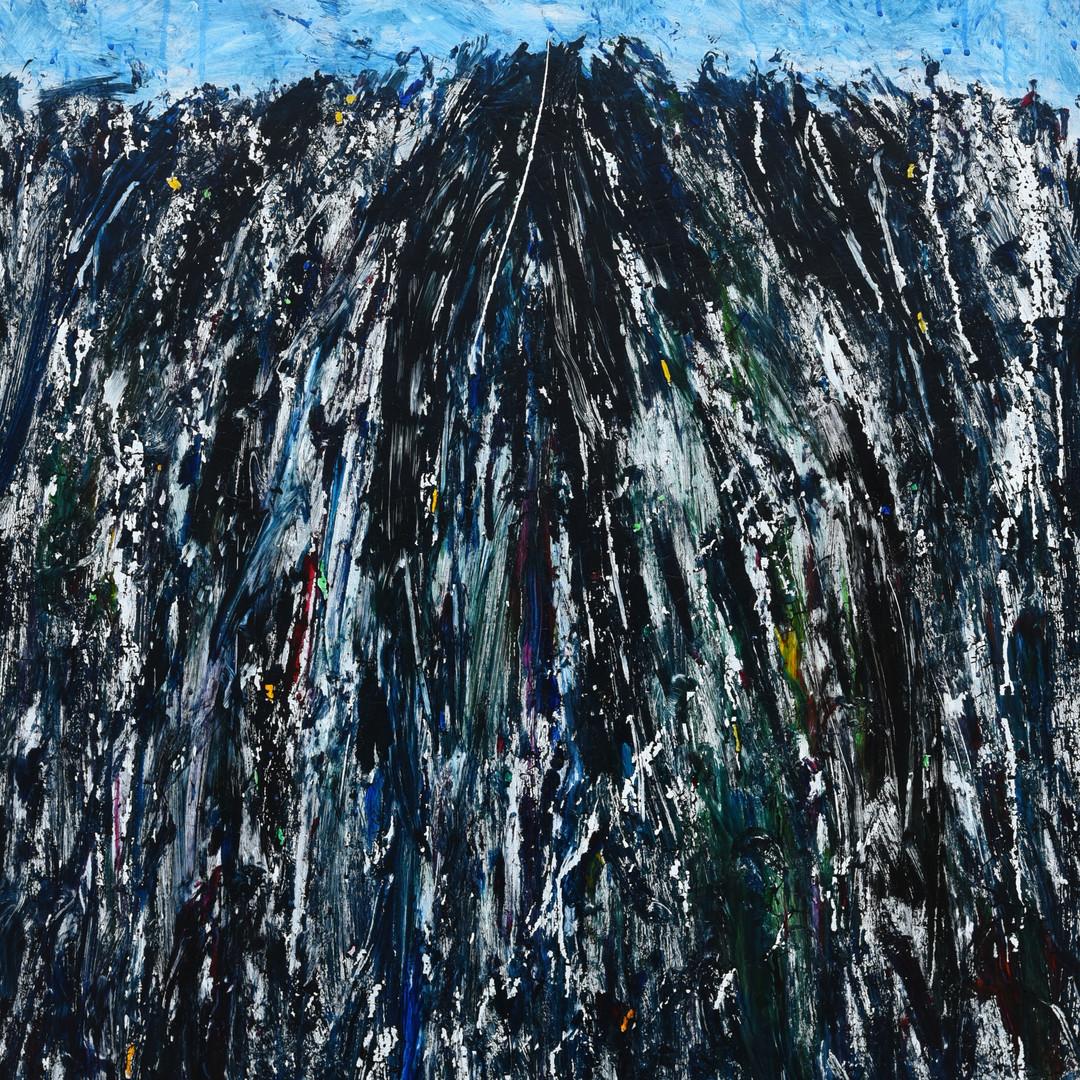 019, 정의철, 이 산은 마음이 빽빽하다, 72.7 x 90.9 cm,