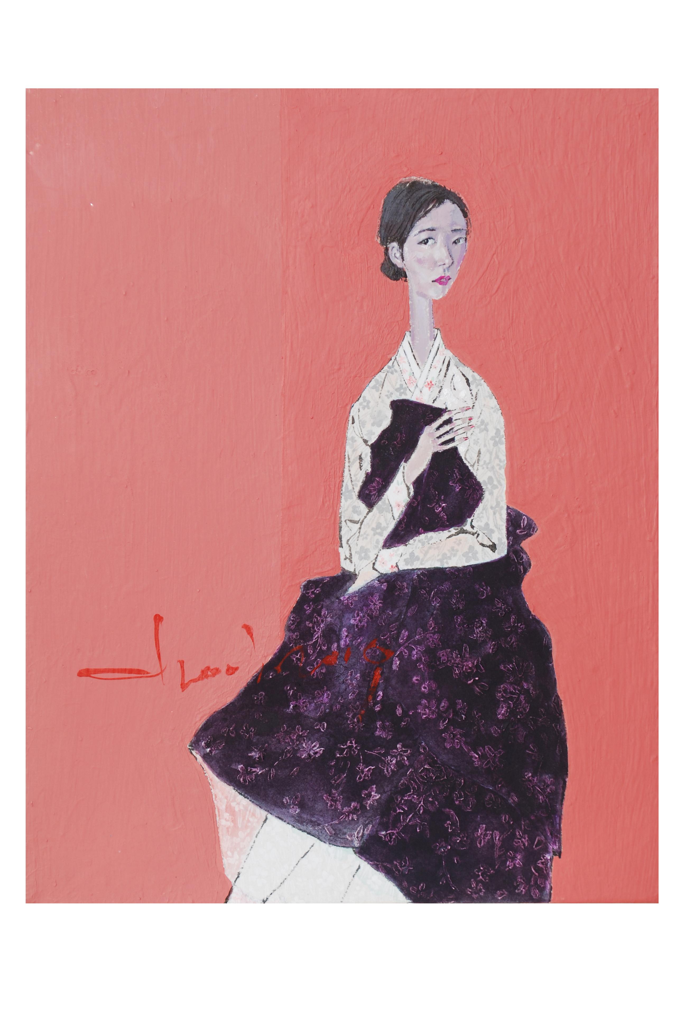 최경자1, Alpaha Girl 1939, 31.8 x 41