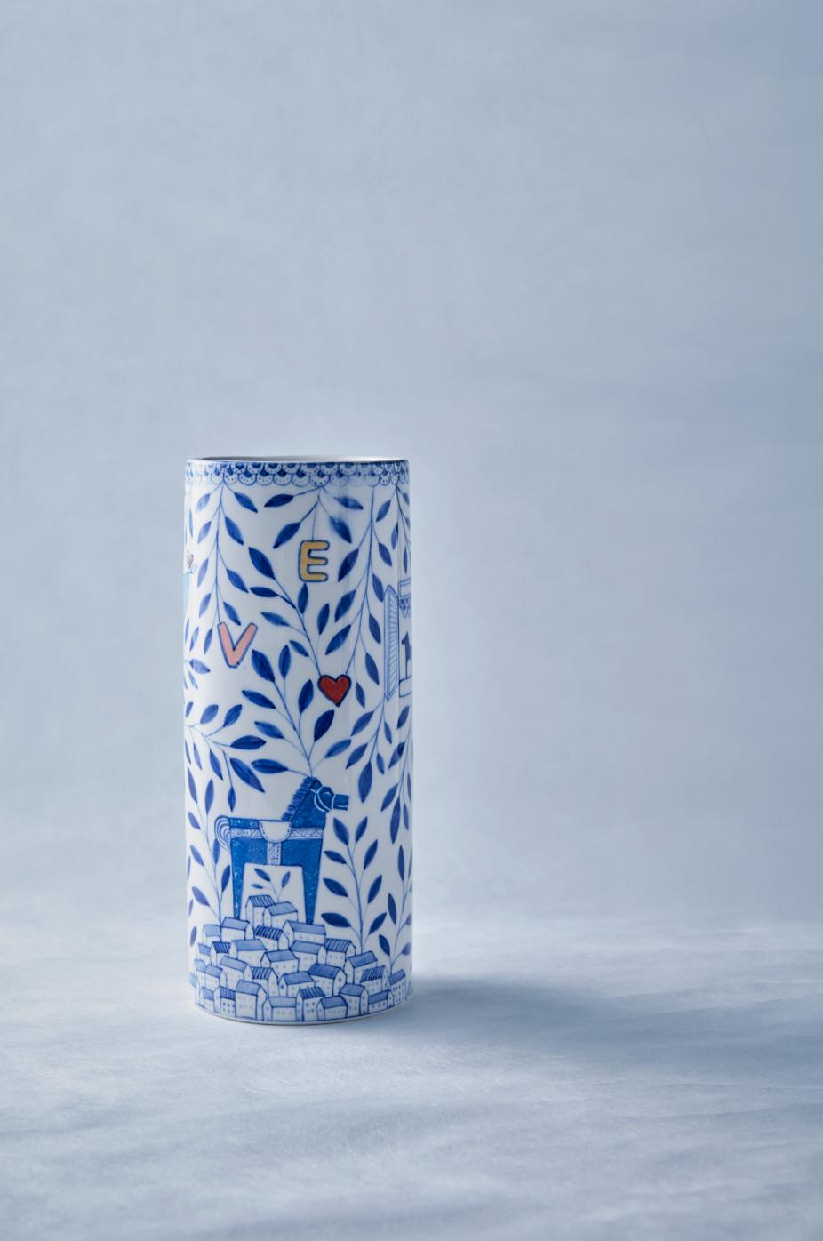 한주은, Vase, 11 x 11 x 31 cm, Porcelain, 2