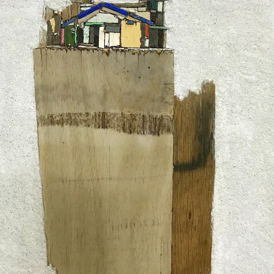 010, 이부강, 꿈꾸는 섬 20, 18.0 x 25.5 cm, Mixe