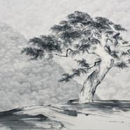 003, 천년의 노래, 110x165cm, 수묵, 2018.JPG