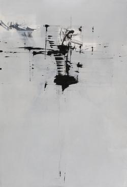 008, 기억의 소환-冬, 117 x 80 cm, 캔버스에 유화물감, 2
