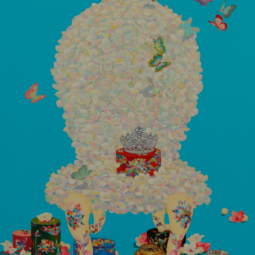 005 기품있는 그녀 91x72.7cm Acrylic on canvas