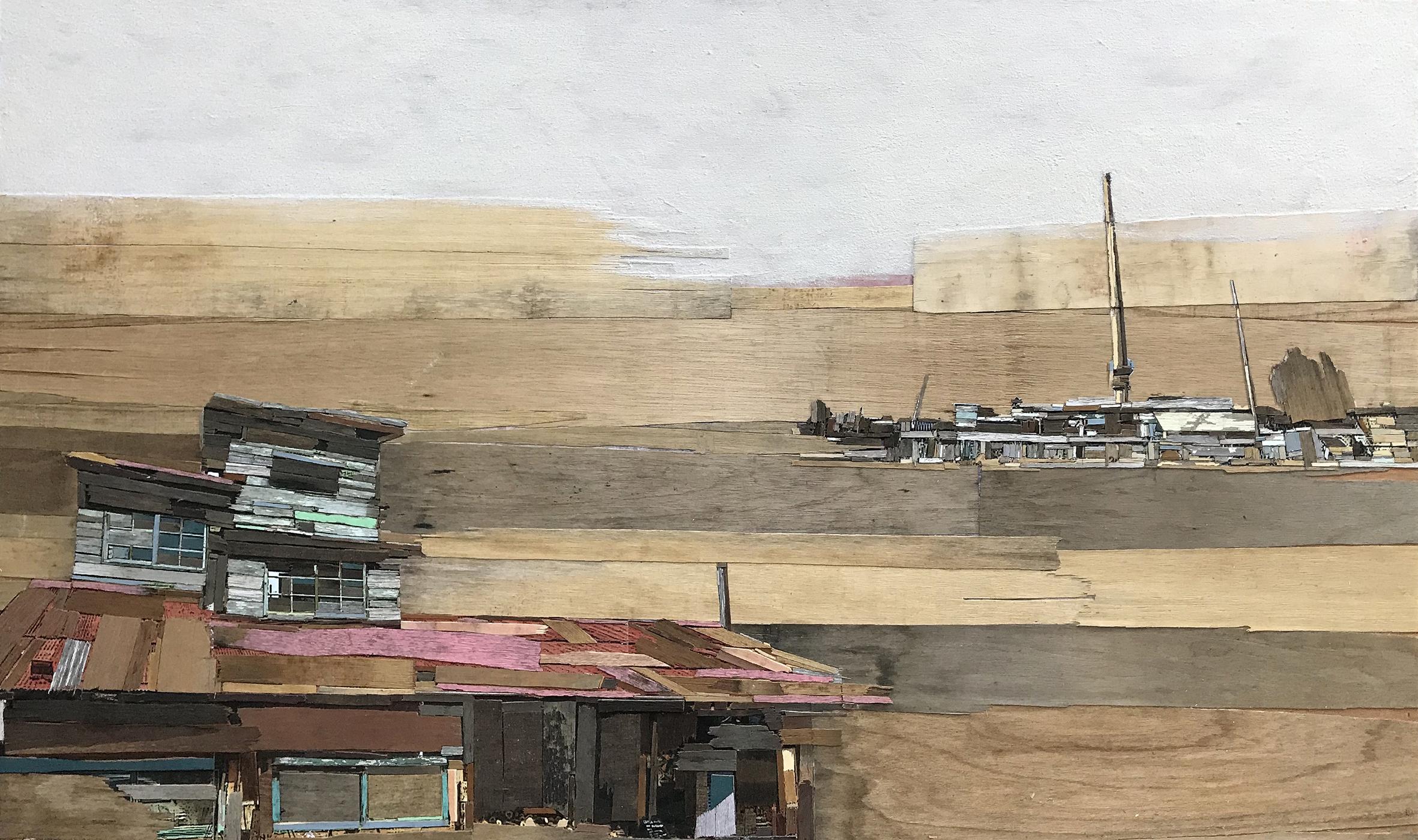 005, 이부강, trace skyline (정미소887), 130 x