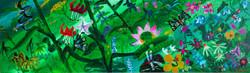 019 민해정수, 여름(1), 111.8 x 31