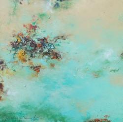 015, 권영범, 어떤여행 (un Voyage), 41 x 41 cm, Oil on canvas, 2021, 230만원