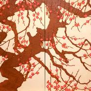 016, 매정 130cmx362cm canvas on acrylic 20