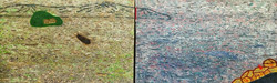 동피랑이야기, 194x61cm, 혼합재료, 2017