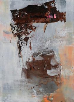 011, 기억의 소환, 33 x 24 cm, 캔버스에 유화물감, 2020