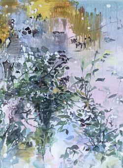 009, 박계숙, 나르시스의 정원-숲1, 47.5 x 35