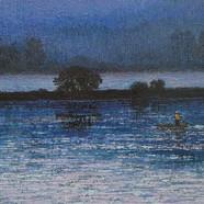 001, 우포늪이야기-흐르는시간  41x53cm oil on canvas