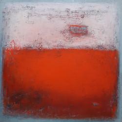 013, 이윤정, Pink Haze, 112 x 112 cm, Oil&M