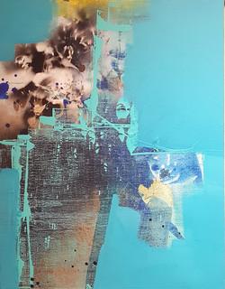 014, 연상록, 기억의 소환(초하) Ⅰ, 32 x 41 cm (6F),