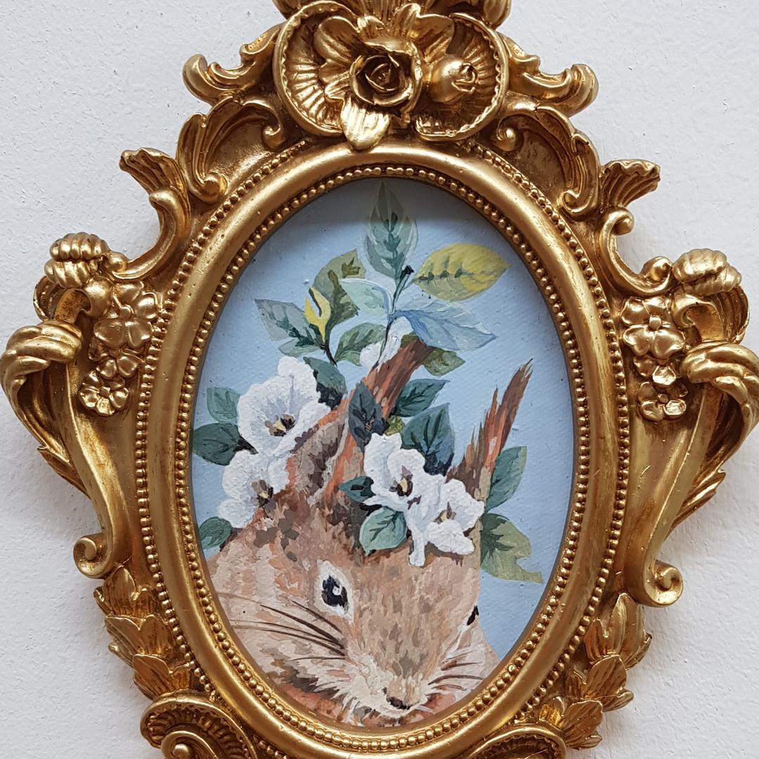 031, 박계숙, 나르시스의 정원-18, 13 x 20 cm, 캔버스에
