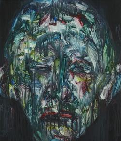 정의철4, 낯39, 53 x 45 cm, Acrylic, 2019