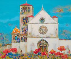 황미정4, 아시시의 성프란체스코 성당, 45.5 x 37