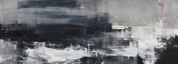 005, 기억의 소환-겨울바다, 41 x 115 cm, 캔버스에 유화물감