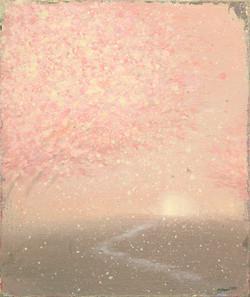 김현영1, 봄 비, 38.0 x 45