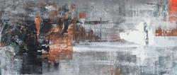 024, 기억의 소환-冬, 31 x 70 cm, 캔버스에 유화물감, 20