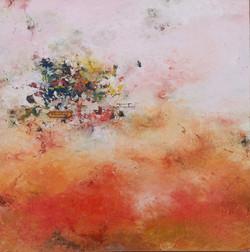 013, 권영범, 어떤여행 (un Voyage), 34.5 x 34.5 cm, Oil on canvas, 2021, 200만원