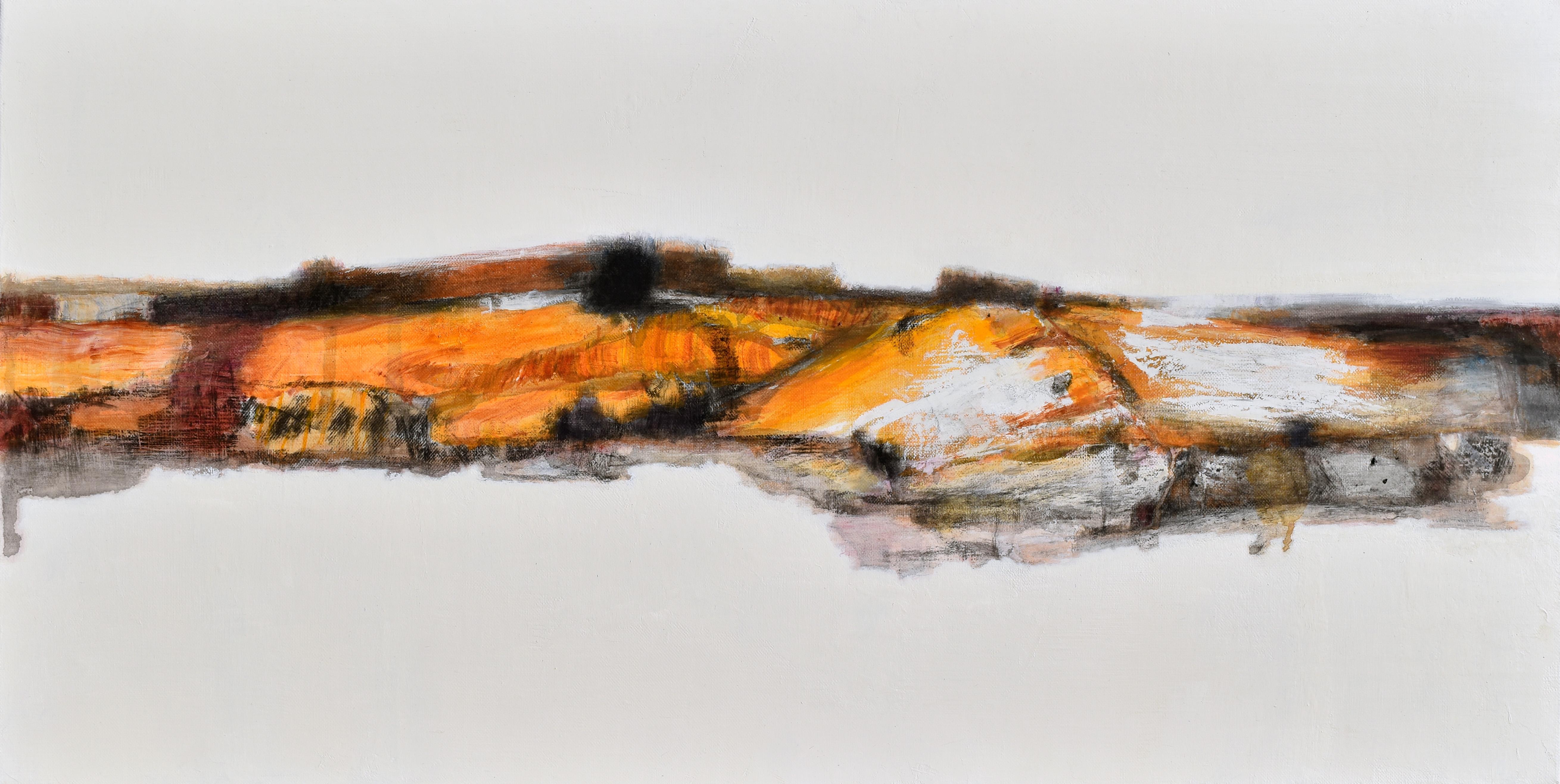 최성원, 그곳, 72.7x36.3cm,  mixed medium, 2016